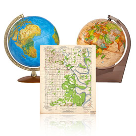 Глобуси і карти