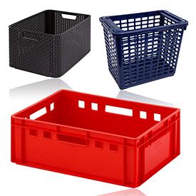 Ящики та сітки для зберігання