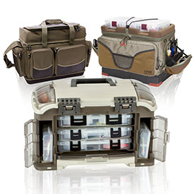 Ящики та сумки для риболовлі