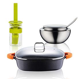 Посуд для запікання та випічки