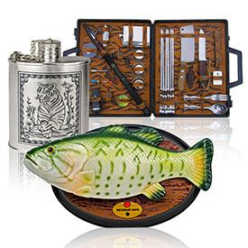Сувеніри та подарунки для мисливців і рибалок