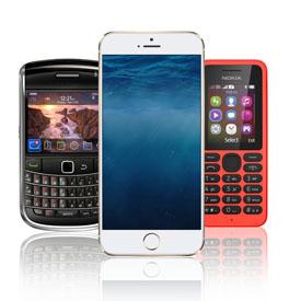 Смартфони та мобільні телефони
