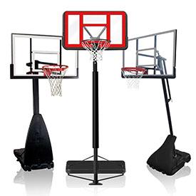 Баскетбольні стійки та щити