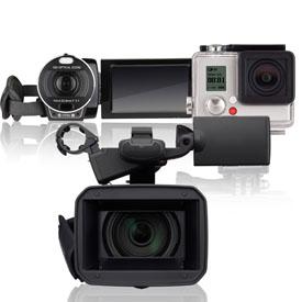 Видеокамеры и экшн-камеры