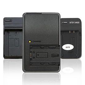 Зарядні пристрої для фото- та відеокамер