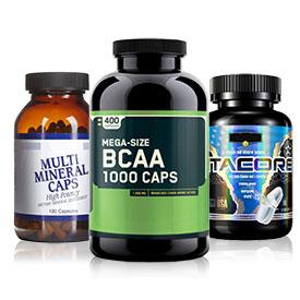 Минеральные и витаминные комплексы