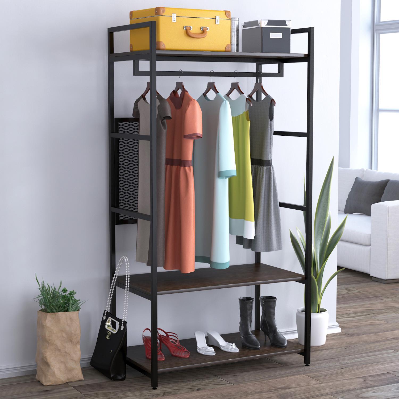 Стелаж для одягу Loft Design LV-100 Венге Корсика (54478c19709)