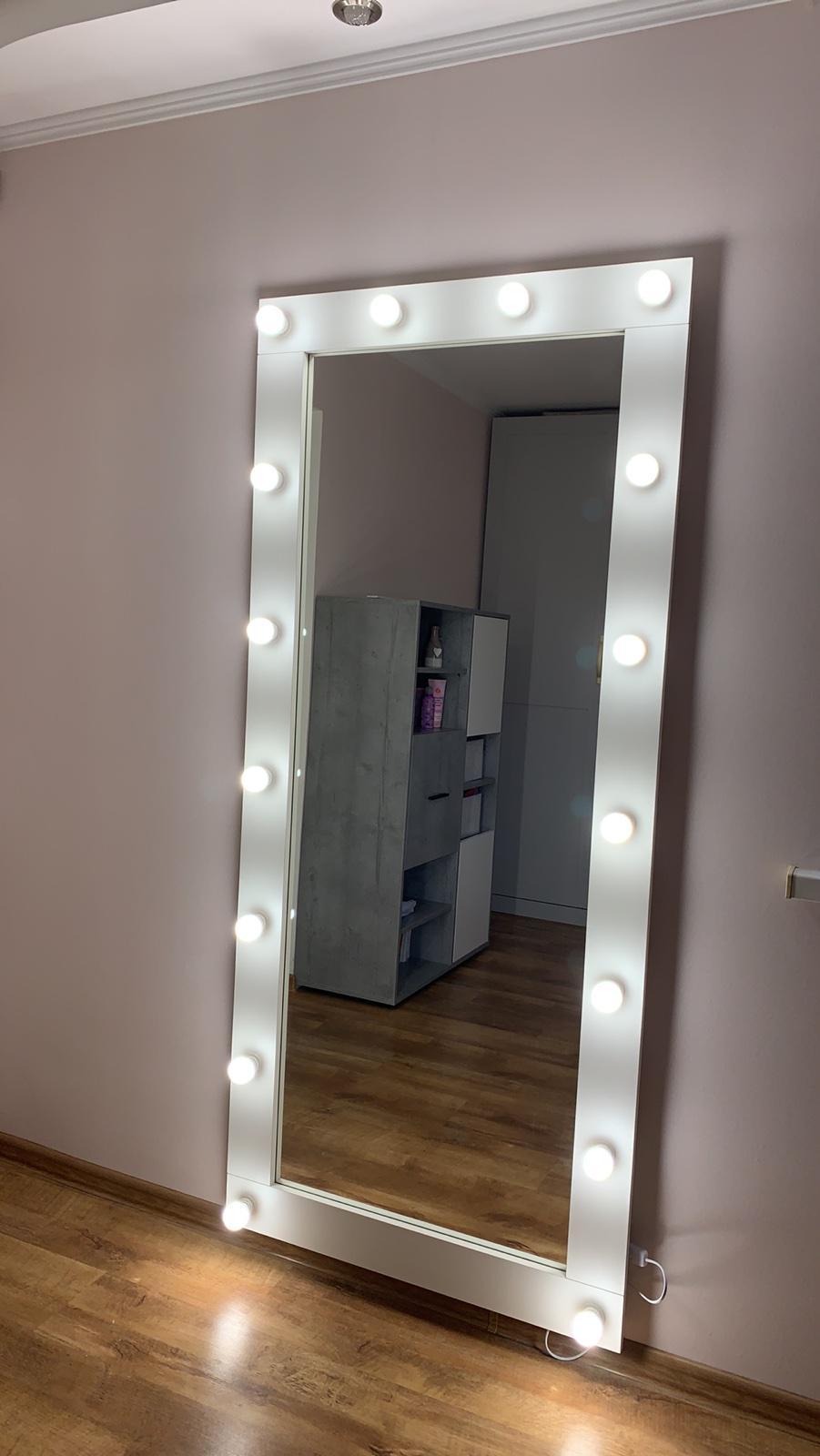 Зеркало 1800х800 см полный рост настенное/напольное (200-180x80)