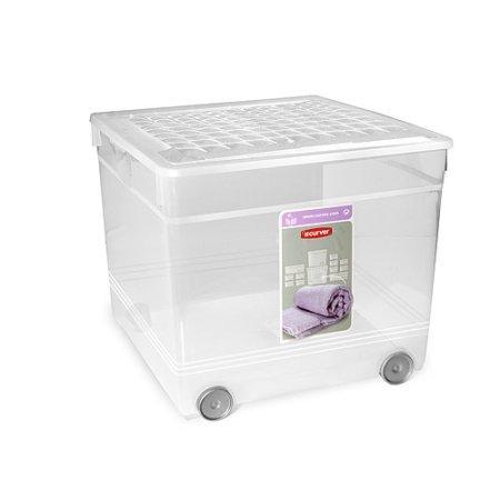 Ящик для зберігання Curver Textile box 33 л на колесах (3001)