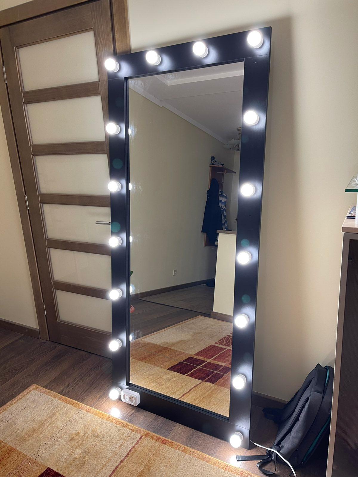 Зеркало 1800х800 см полный рост настенное/напольное