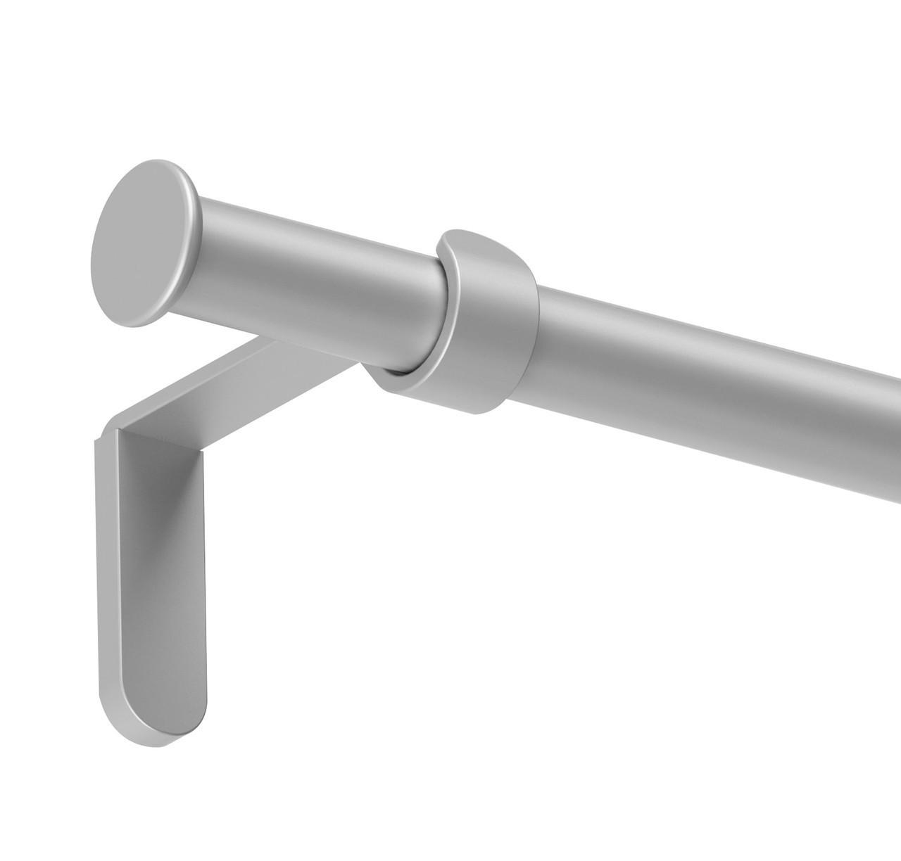 Карниз Mardom метал Осло одинарний сатин 19 мм 240 см (895245)