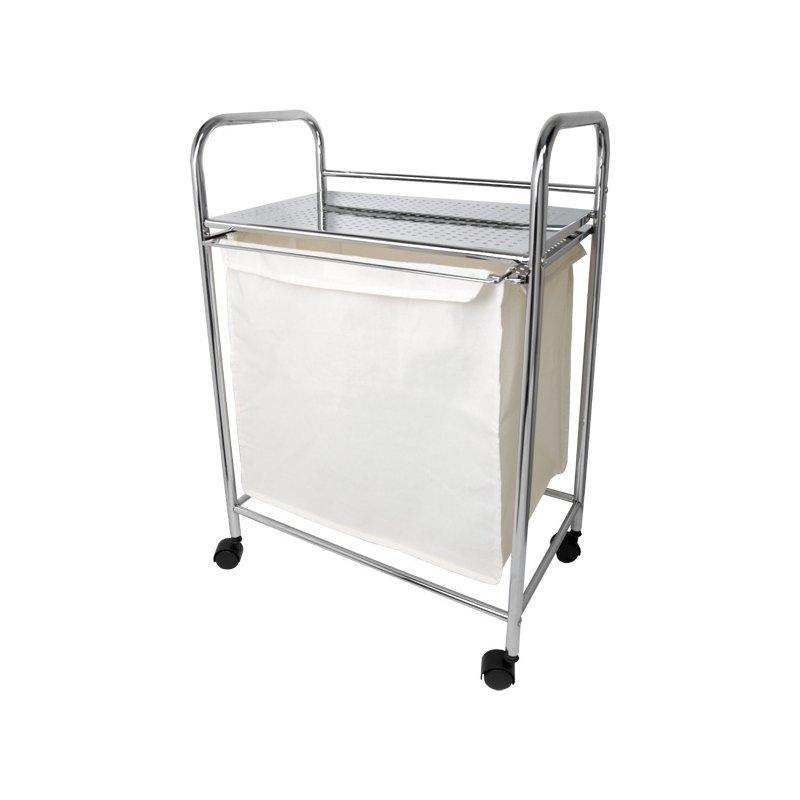 Візок для ванної з мішком для білизни Arino