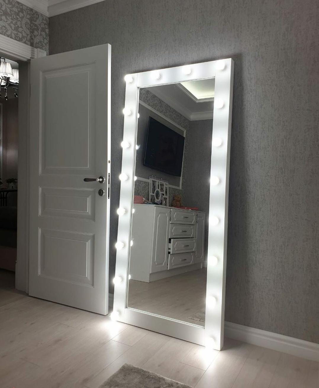 Зеркало 1600х600 в полный рост настенное/напольное