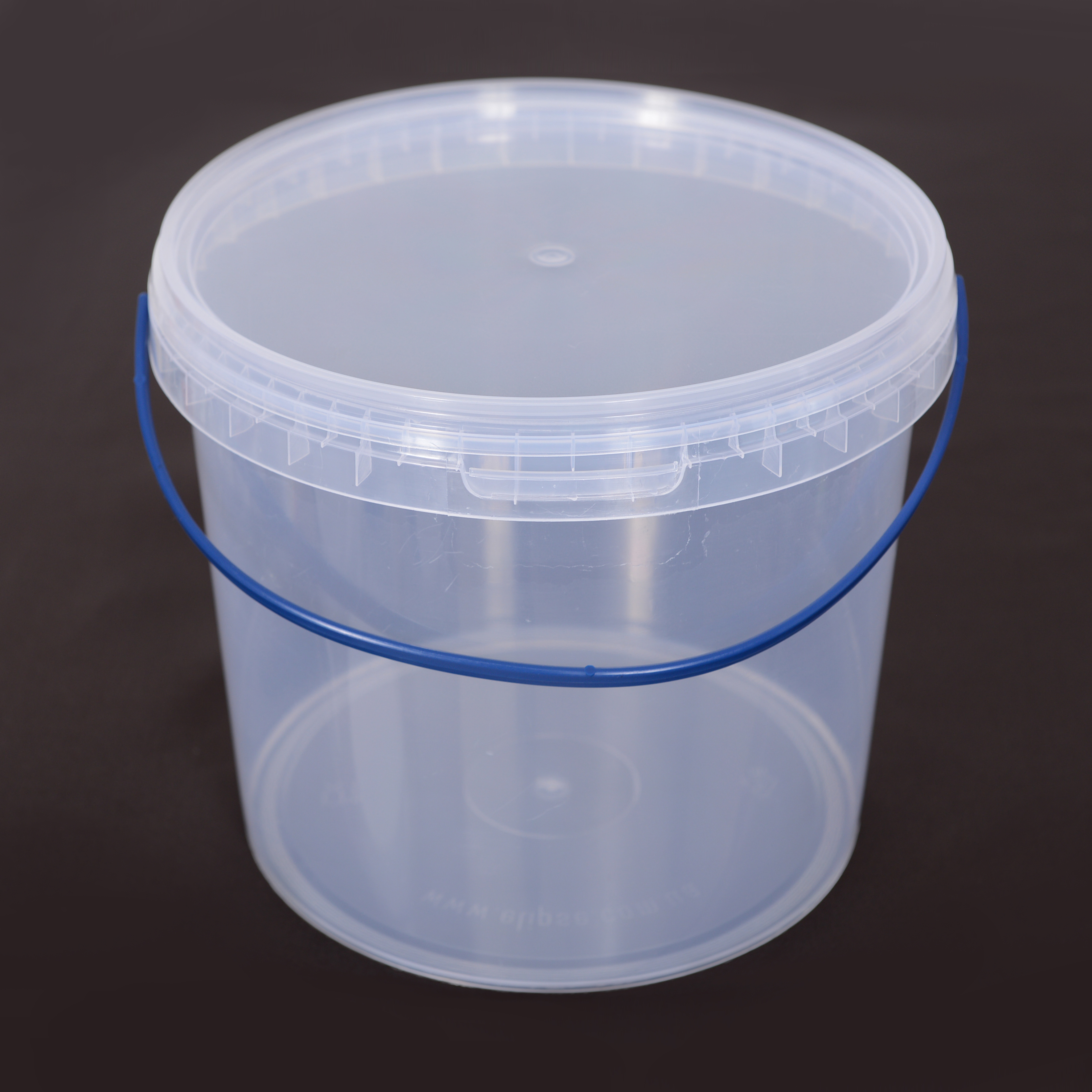 Ведро пищевое 3,3 л пластиковое Прозрачный
