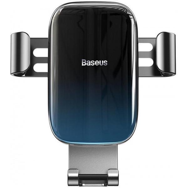 Тримач Baseus Автодержатель Glaze Gravity Car Mount на решітку (SUYL-LG01) Black 00000081112
