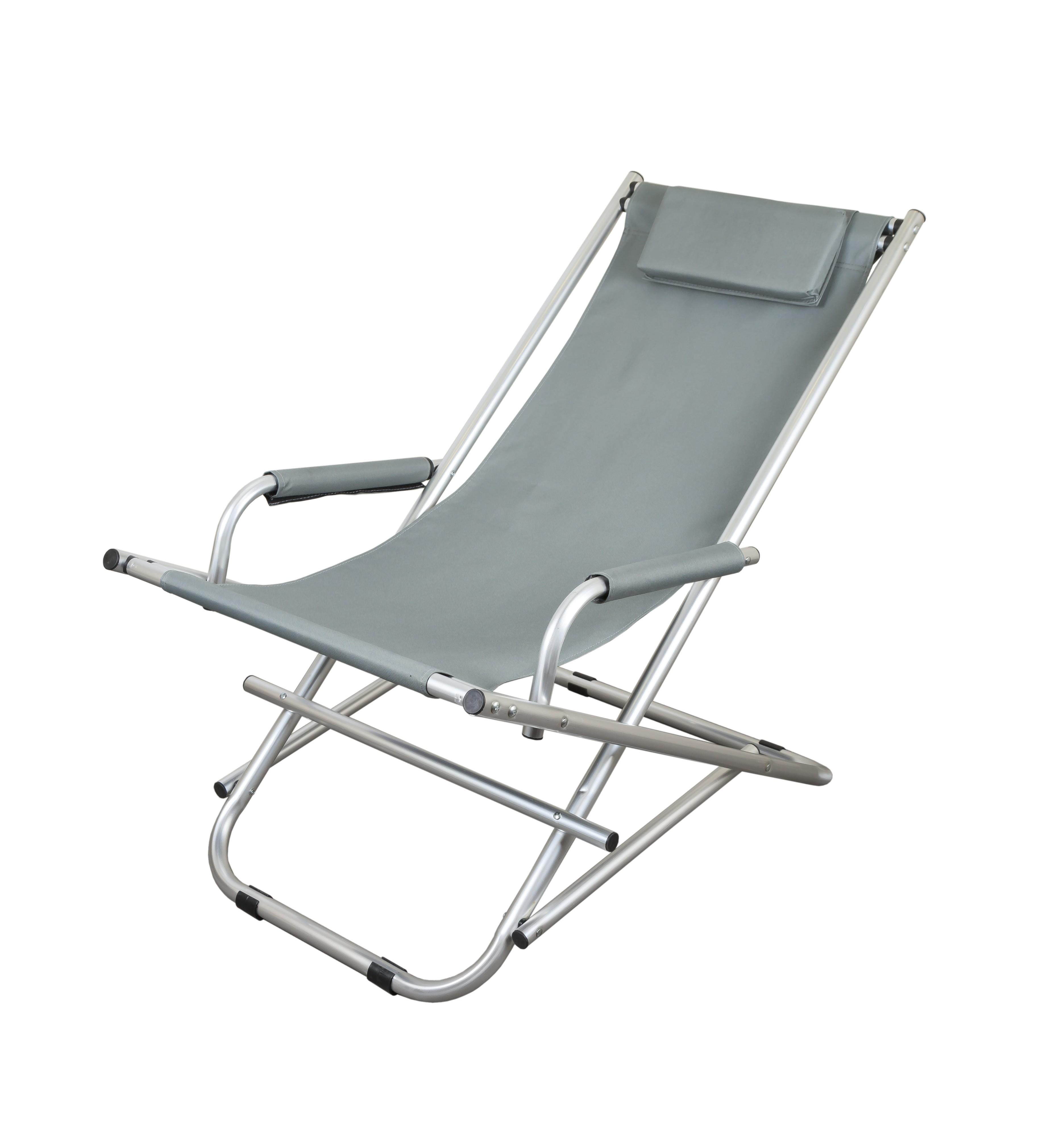 Шезлонг крісло-качалка GP GP20022109 розкладний Moss