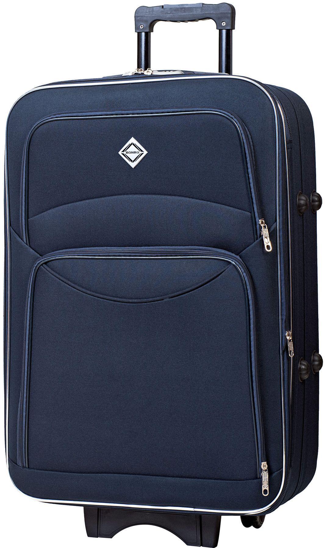 Валіза Bonro Style велика Синій (10012701)