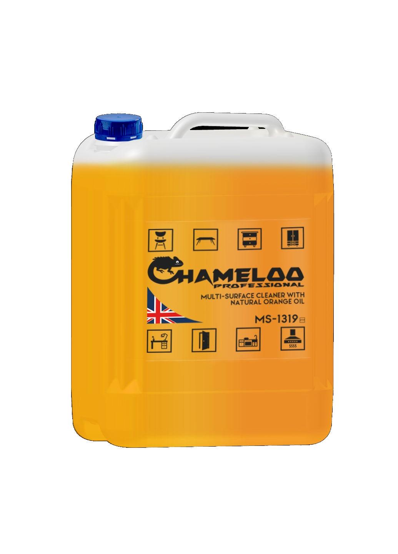 Професійний засіб для чищення всіх типів поверхонь з апельсиновим маслом Chameloo Professional 5л