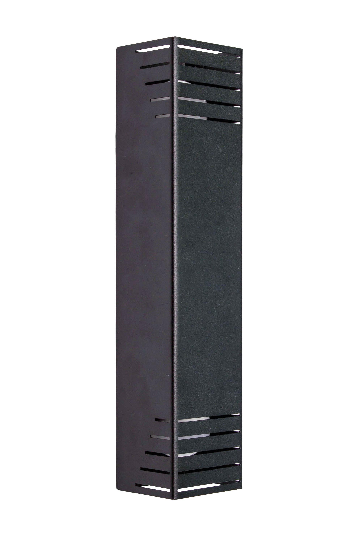 Бра настінне MSK Electric під дві лампи NL 23701-1 BK Чорний