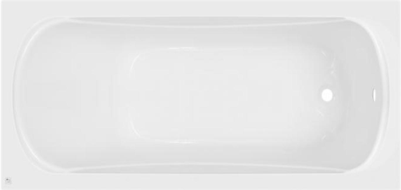 Ванна акрилова з ніжками SunLight 4001 180х80x38 см Білий