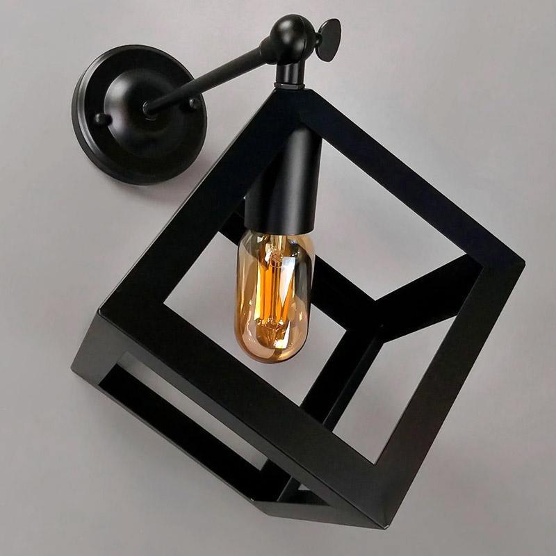 Бра настінне Light House NM-14784-A/1W BK Чорний