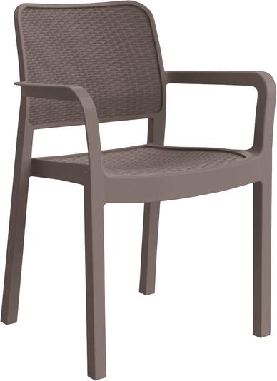 Садовий стілець для саду Keter Samanna Капучино (216922)