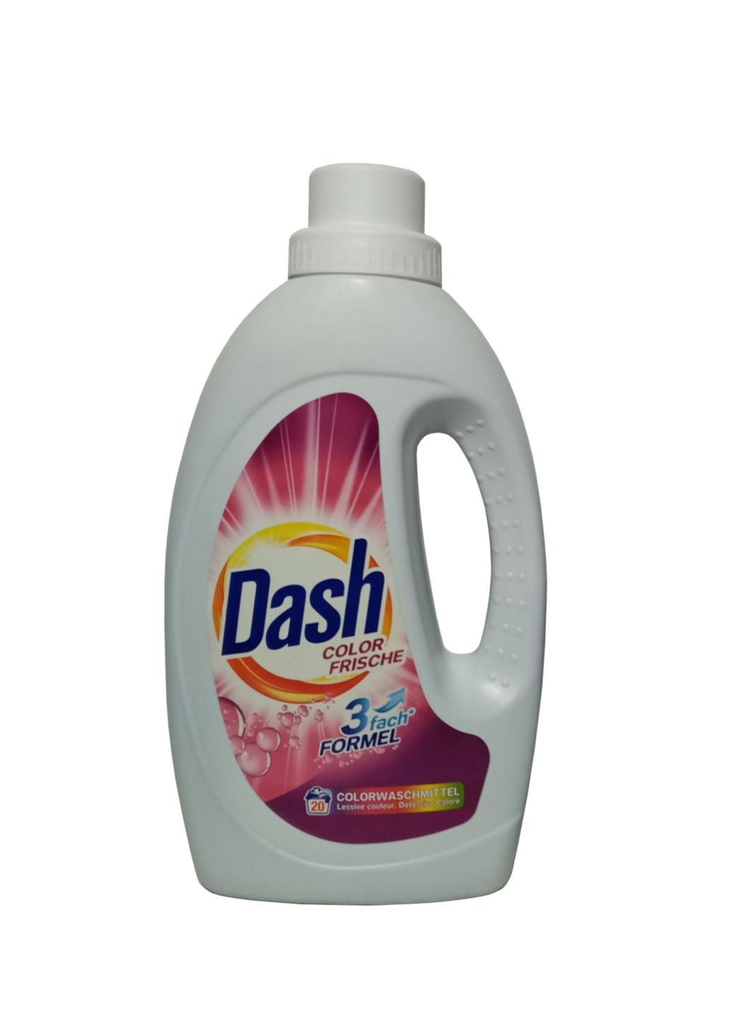 Гель для прання кольорових речей Dash Color Frische 1,1 л 20 прання