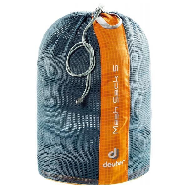 Мешок-чехол Deuter Mesh Sack 5 Mandarine (70090)