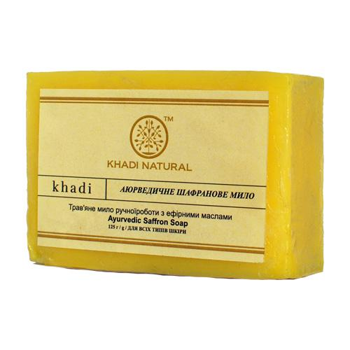 Аюрведическое шафрановое мыло Khadi 125 г