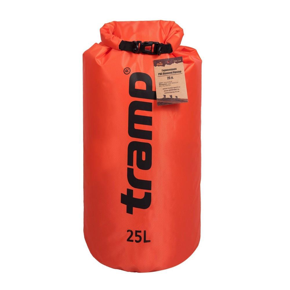 Гермомішок Tramp TRA-118-orange PVC Diamond Rip-Stop 25 л (65053)