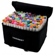 Двосторонние маркеры для скетчинга Touchnew 168 цветов (Touchnew-168)