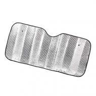 Сонцезахисний екран-шторка на лобове скло 130х60 см (4785)