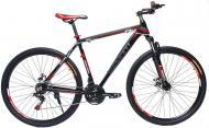 Велосипед Benetti Grande Чорний/Червоний