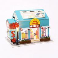 3D Румбокс CuteBee DIY DollHouse Магазин іграшок (M916)