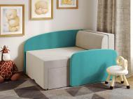 Міні-диван трансформер Viorina-Deko Smile 02 Бірюзовий/Білий