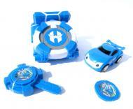 Іграшка Dabitoy Ліга Вотчкар машинка Блюввил і Джин та запускач WatchCar Синій