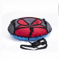 Надувные санки-ватрушка Kospa 120 см Красный/Серый (068)