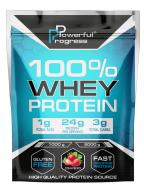 Сироватковий протеїн Powerful Progress Whey Protein 100% Instant 1 кг Полуниця (06771-04)