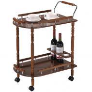 Сервировочный столик на колесах SC-5512 Орех