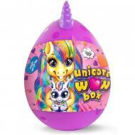 Набір для творчості Danko toys Unicorn WOW Box яйце єдиноріг 24 предмета