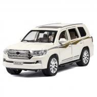Колекційна машинка-моделька ТК Union Group Toyota Land Cruiser металева Білий (59088)