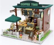 Набір дитячий міні-інтер'єрна модель Diy House Coffee Time