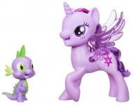 Игровой набор My Little Pony Twilight Спаркл Искорка и Спайк (C0718)