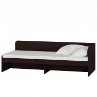 Ліжко Еверест Соната 800 без шухляд 194х84х61 см Венге темний (00238)
