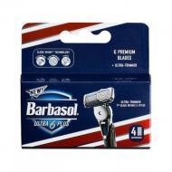 Катриджи Barbasol Ultra 6 Plus шість лез 4 шт. (291910)