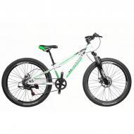 "Велосипед Cross Blast 2021 SUSP 26"" рама 33 см Білий"