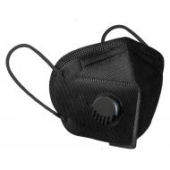 Респіратор-маска захисна Medicalspan FFP3 KN95 з клапаном Чорний (16525)