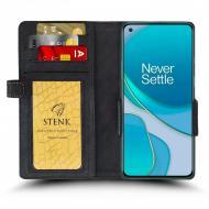 Чохол книжка Stenk Wallet для OnePlus 8T Чорний (68887)