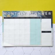 Планинг на месяц на магните Figasse Синий