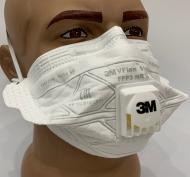 Респиратор FFP3 с клапаном 3m Vflex 9163v ффп3 многоразовая маска 3-й класс для медиков, оригинал с завода